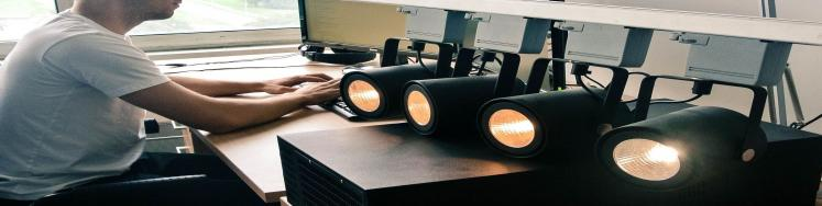 We are taking part in the research of modern LED lightings